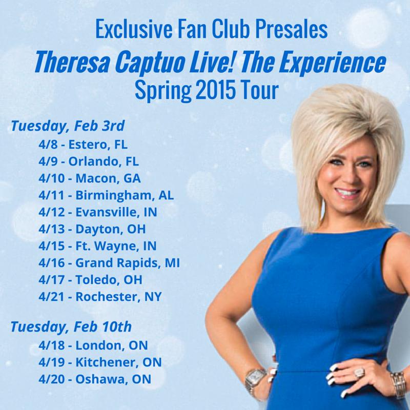 tour pre sale graphic