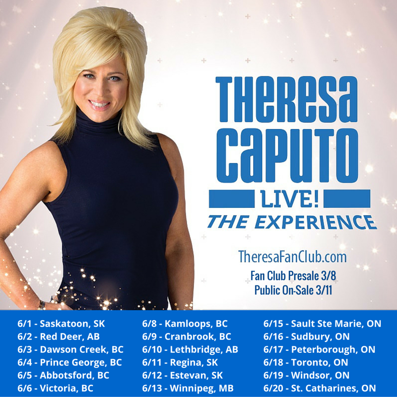 Long Island Medium Tour Canada