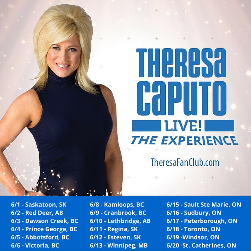 Theresa Caputo Canadian Tour
