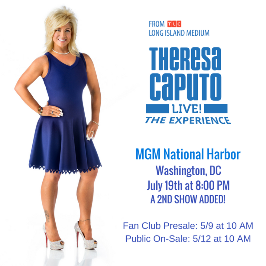 Theresa Caputo Medium Tour Dates